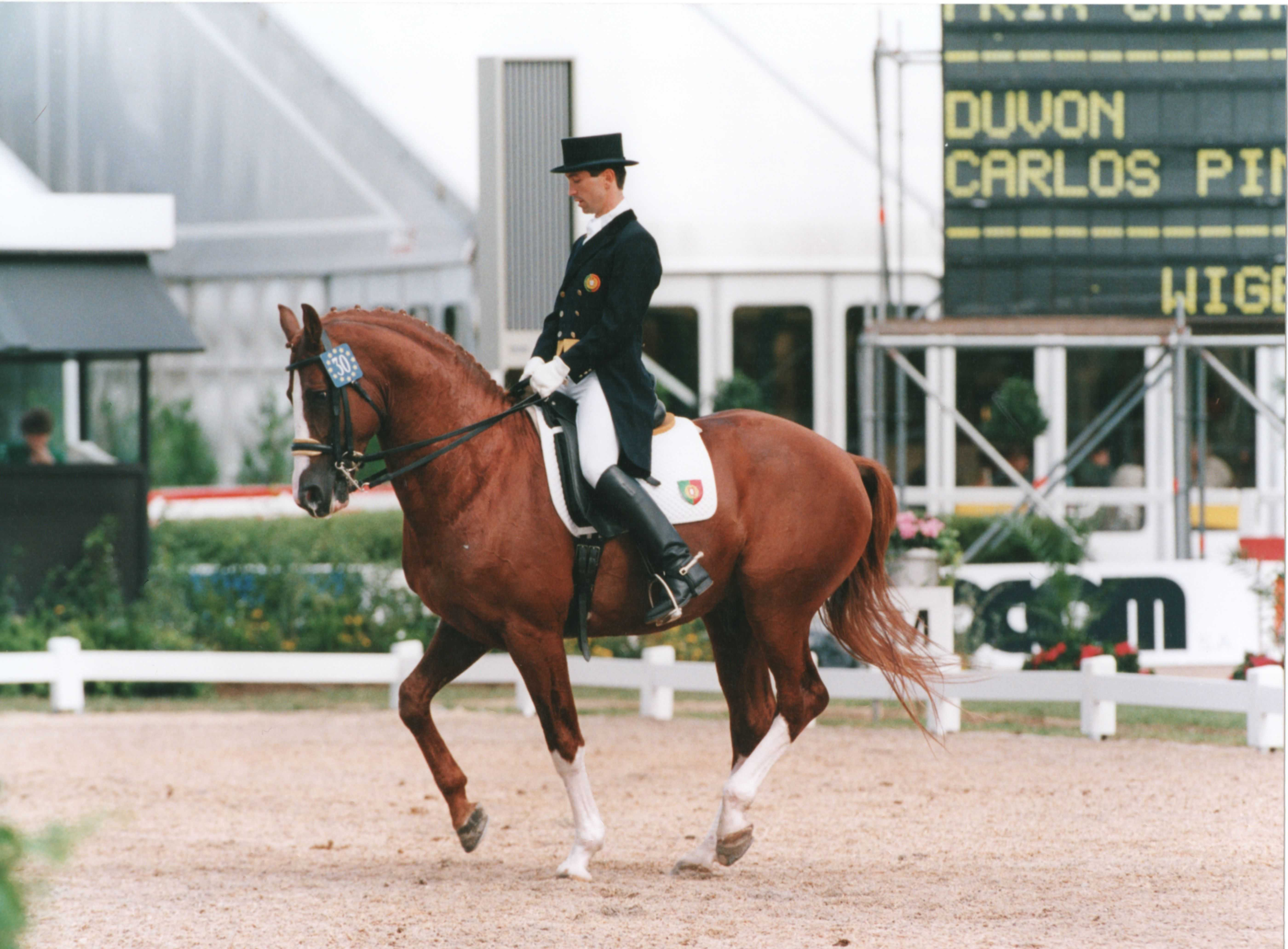 DUVON - Champ. Europe Luxembourg 1995