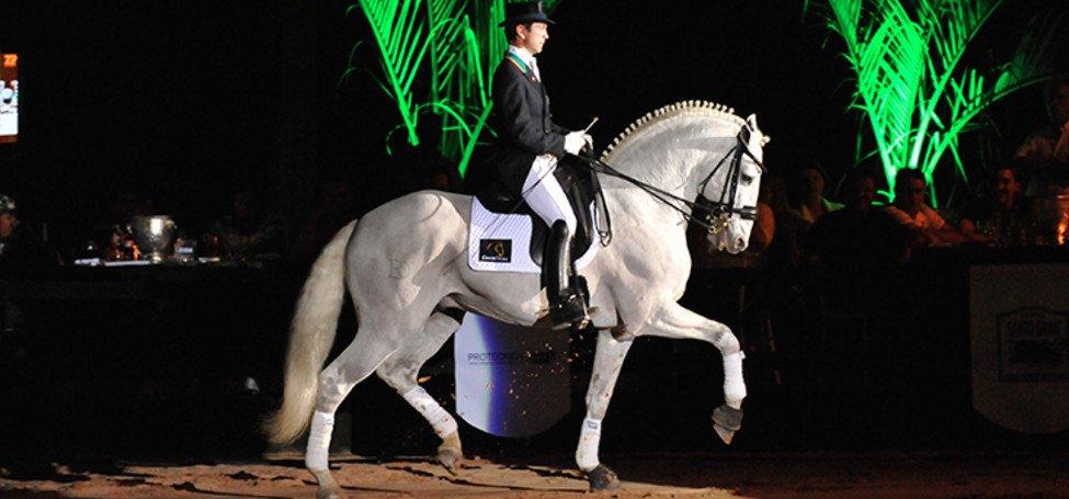 Carlos Pinto dressage équitation