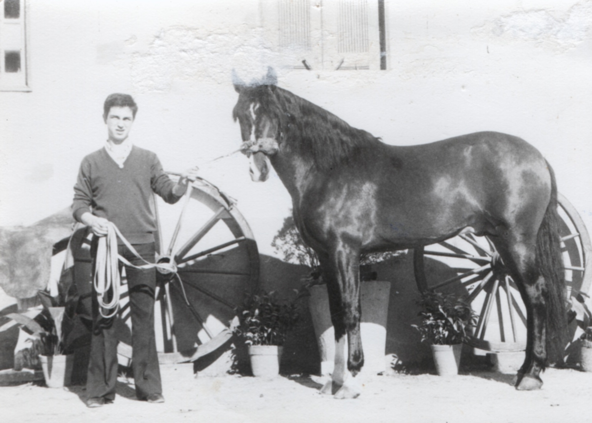 Carlos Pinto à 16 ans