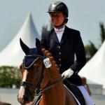 Isabelle Pinto et Sultan des Paluds à Saumur